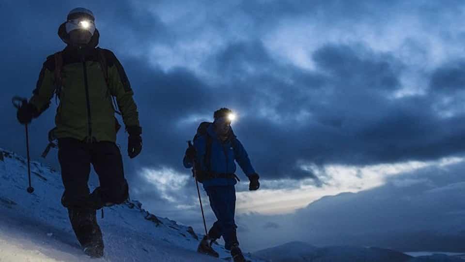 alpinistes de nuit