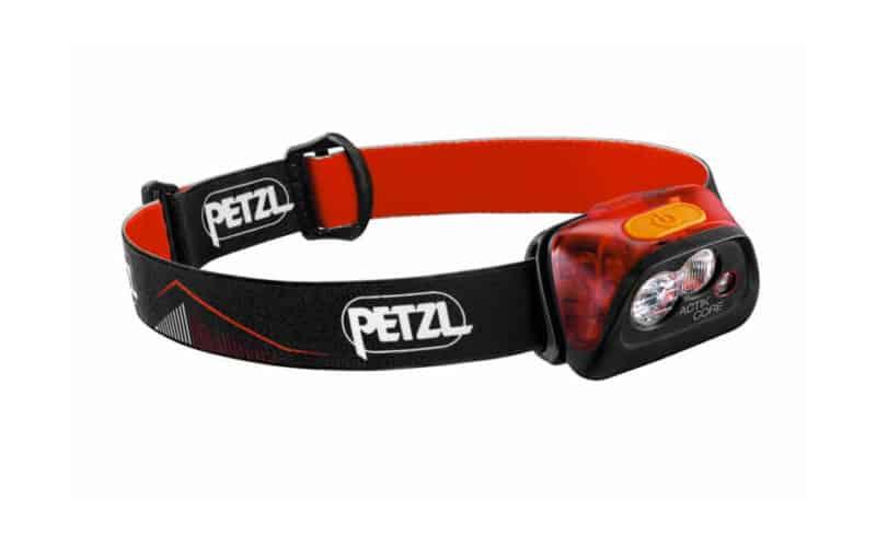 Petzl Actik Core rouge