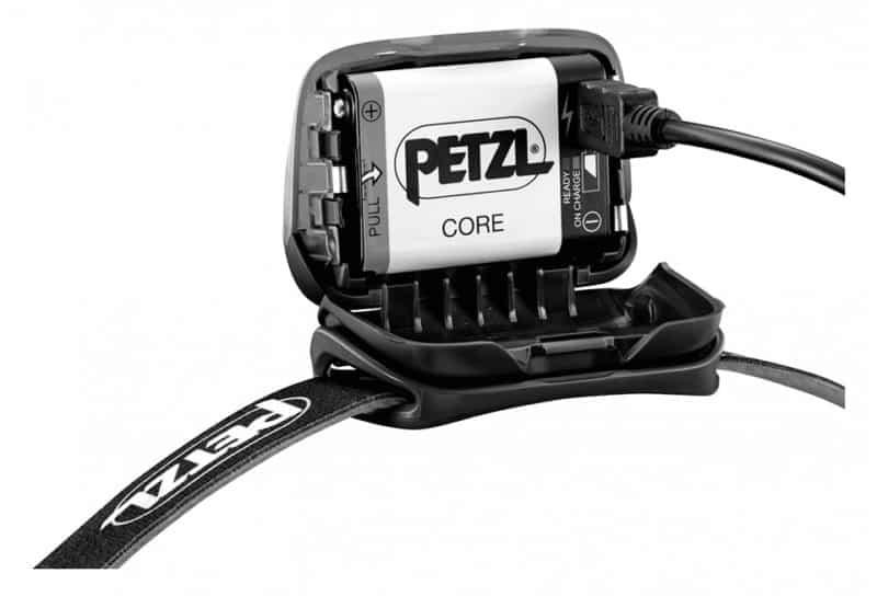 Lampe frontale Petzl Actik Core batterie