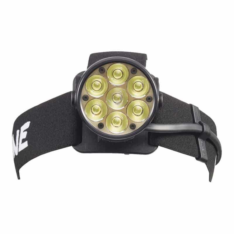 Les LED du bloc d'éclairage de la lampe frontale Lupine RX14