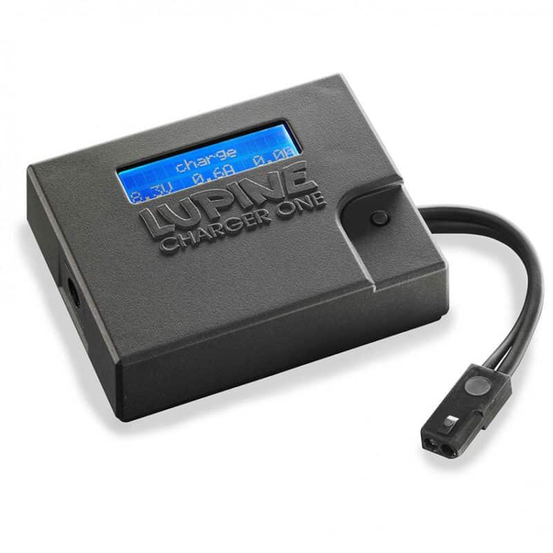 Chargeur de batterie de la lampe frontale Lupine RX14