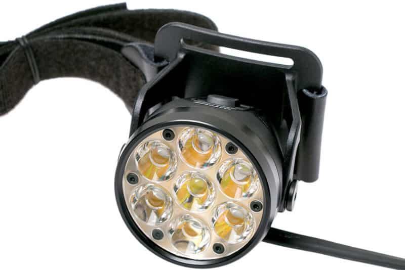 bloc d'éclairage de la lampe frontale Lupine RX14