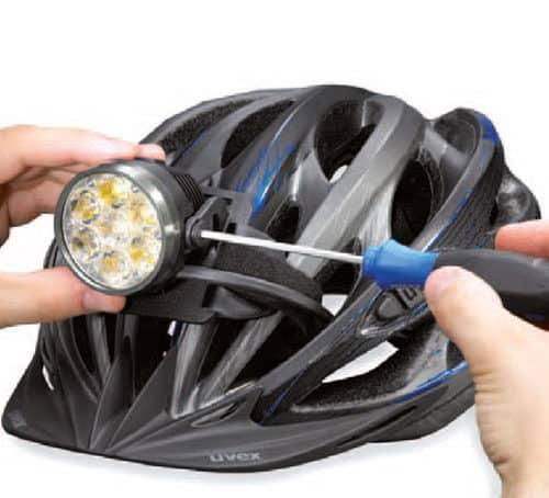 lampe frontale casque vélo